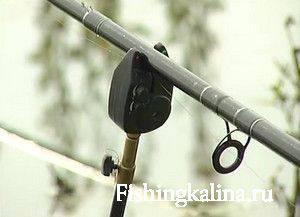 Электронный сигнализатор поклевки рыбы