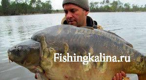 Карповая ловля (рыбалка) с Кордом
