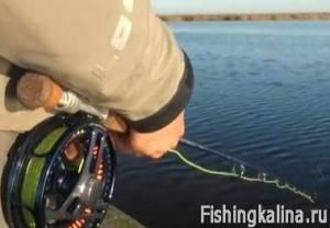 Нахлыстовая снасть в сборе готова к рыбалке