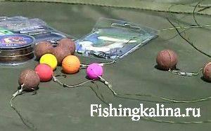 Рыболовные оснастки на карпа