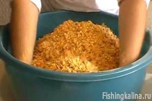 Самодельная прикормка для ловли рыбы