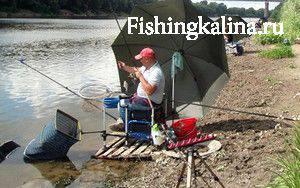 Ловля рыбы фидерными удилищами