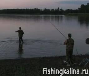 Ночная рыбалка на Дону