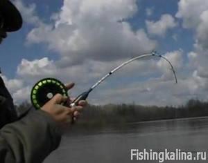 Рыбалка на отвесное блеснение