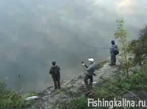 В Воронежской области рыбалка