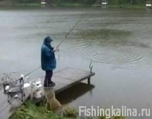 Ловля рыбы поплавочной снастью