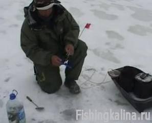 Рыбалка зимой на жерлицы
