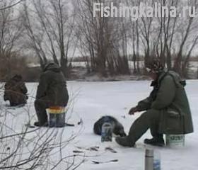Окуневая зимняя рыбалка
