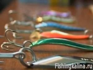 Колеблющиеся блесны для рыбалки на щуку, окуня, форели