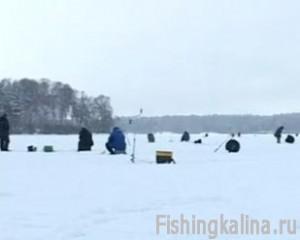 Рыбалка зимой на Истринском водохранилище