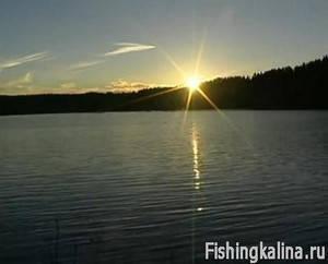 Рыбалка на озере Паталахти в Финляндии