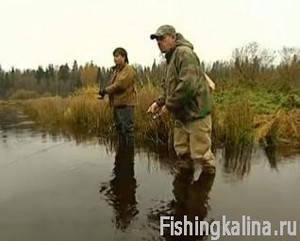 Ловля хариуса и форели на малых реках в Ленинградской области