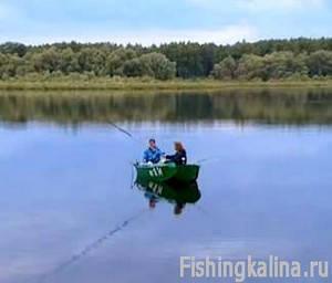 На Можайском водохранилище рыбалка отдых