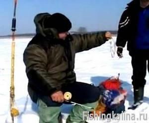Рыбалка зимой на Иваньковском водохранилище