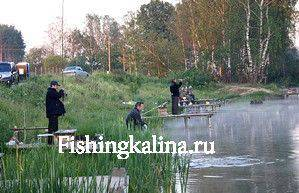 На московской платной рыбалке