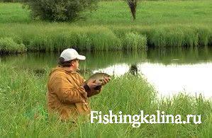 Рыбалка удочкой на карася