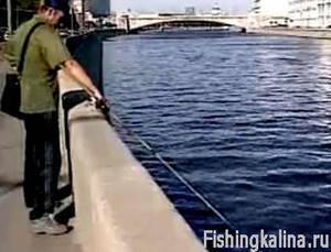 Рыбалка в городе Москве
