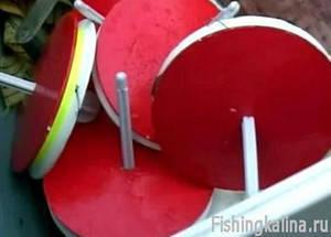 Кружки для ловли хищной рыбы
