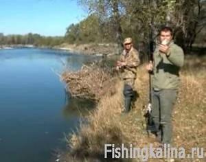 Рыбалка на реке по голавлю