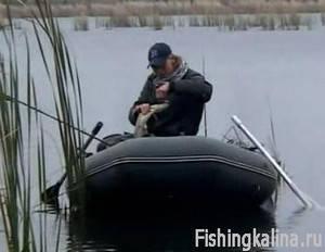 Ловля хищника на спиннинг на озере Лакаш