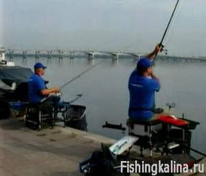 Ловля рыбы на фидер в городе