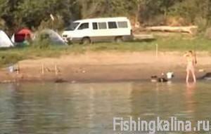 Рыбалка на Волге - ловля на донку и спиннинг семьями