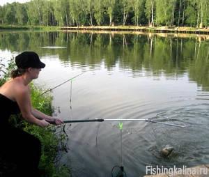 Платная рыбалка в Подмосковье - ловля форели и щуки