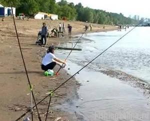 Рыбацкое счастье на реке Волга