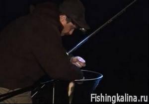 Ночная успешная рыбалка на красивейшей реке Оке