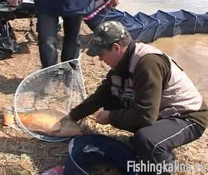 Рыбалка в апреле - ловля карпа на фидер