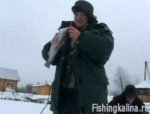 Рыбалка зимой в Подмосковье по форели