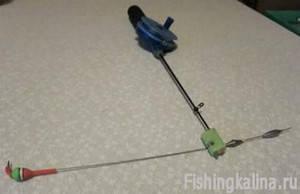 Рыболовные самоделки - модифицированный кивок Щербакова своими руками