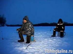 Рыбалка на налима зимой ночью