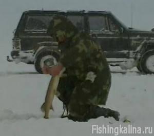 Рыбалкана щуку в Нижегородской области зимой