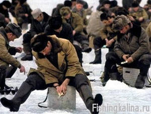 Зимняя рыбалка в Нижегородской области