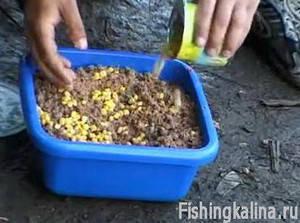 Как приготовить прикормку для ловли карпа на фидер
