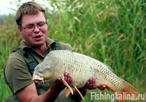 Рыбалка в Донецкой области на карпа