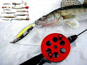 Ловля зимой судака - приманки