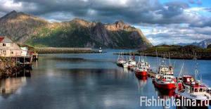 Рыболовные базы в Норвегии для рыбалки и отдыха