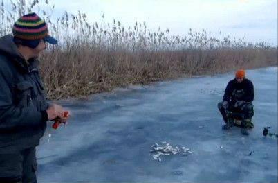 Диалоги о рыбалке 2013 - рыбалка на Волге последний лед