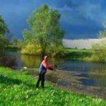 Рыбалка в июне различными снастями