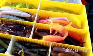 Силиконовые приманки для рыбалки на джиг