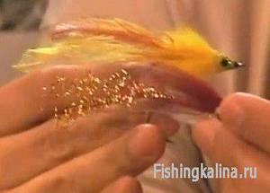 Яркие стримеры для рыбалки нахлыстом