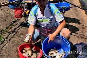 Рыбалка на Киевском водохранилище летом на леща и плотву