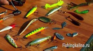 Рыболовные приманки для ловли хищника