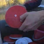 Как ловить рыбу на снасть кружок