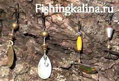 Мелкие вертушки для рыбалки на хариуса