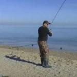 Рыбалка на рыбу кефаль на море