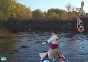 Игра спиннинговая рыбалка