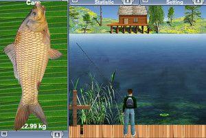 Играть онлайн в рыбалку на озере